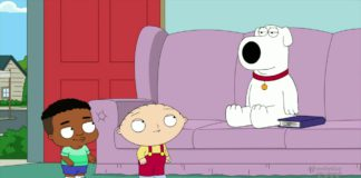 Family Guy Stewie and Hudson